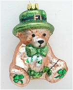 Bear with Shamrocks