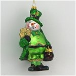 Irish Snowman Pot of Gold